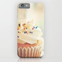 VANILLA CUPCAKE PHOTOGRAPH iPhone 6 Slim Case
