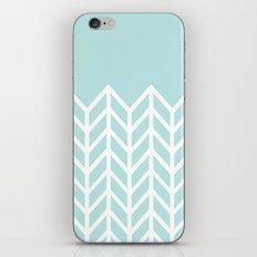 TIFFANY CHEVRON iPhone & iPod Skin