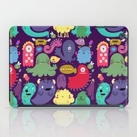 Colorful creatures iPad Case