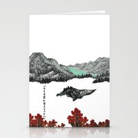 Spring of WuShe Stationery Cards