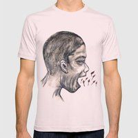 Scream #29 Mens Fitted Tee Light Pink SMALL