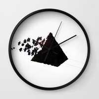 Magic Pyramid Wall Clock