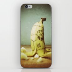 Moby's Little Idiot in a Banana Crash iPhone & iPod Skin