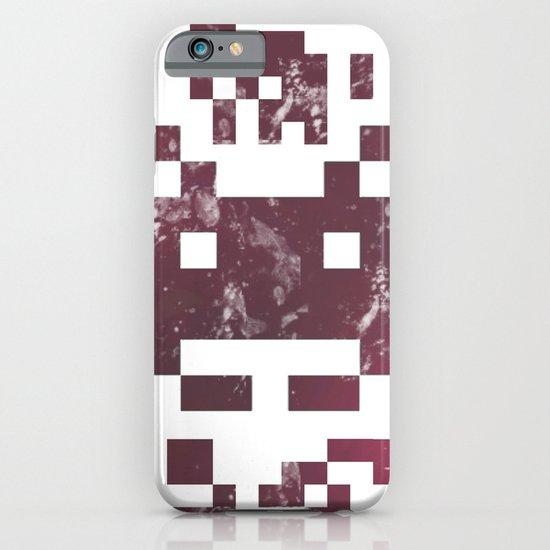 QR invader iPhone & iPod Case