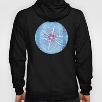 Watercolor Snowflake Hoody