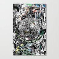 Canvas Print featuring Untold Truth by munchie brain