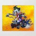 Hot Rod JOKER! Canvas Print
