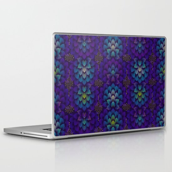 Variations on A Feather IV - Stars Aligned Laptop & iPad Skin