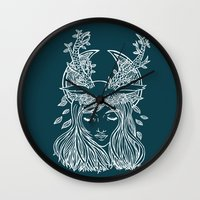 The Forest Princess Wall Clock