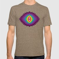 The Awakening Mens Fitted Tee Tri-Coffee SMALL