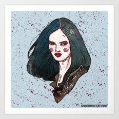 Jessica Jones Art Print