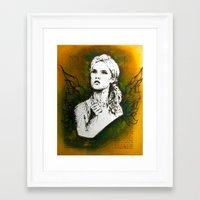 Wings Series Four (Angel)  Framed Art Print