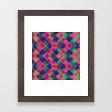 Zagpink Framed Art Print