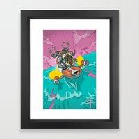 Astro Zodiac Force 02:  Ox Framed Art Print