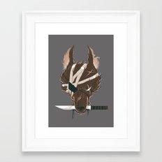 Dogfight Framed Art Print