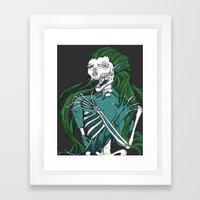 Dead Siren - Hold On Tig… Framed Art Print