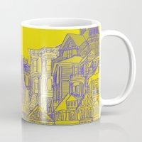 Victorians houses Mug