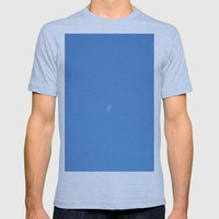 Moon Mens Fitted Tee Athletic Blue SMALL