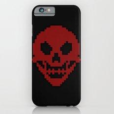Pixel Skull iPhone 6s Slim Case