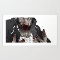 The Wolf Art Print
