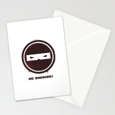 no smoking Stationery Cards