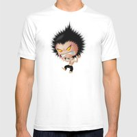 Mr. Zhong: Mad Mens Fitted Tee White SMALL