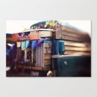Gypsy Caravan Canvas Print