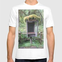 Relics Mens Fitted Tee White SMALL