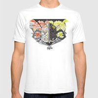 Nalubuff - The Fighters Mens Fitted Tee White SMALL