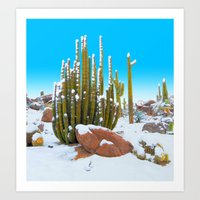 Cool Thoughts from Arizona  Art Print