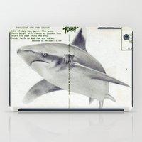 Postcard Shark iPad Case