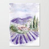 Provence Canvas Print