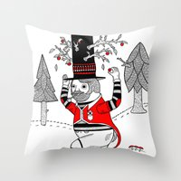 On The Various Things Th… Throw Pillow