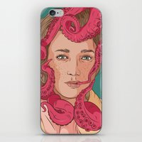 Tentacle Illustration iPhone & iPod Skin
