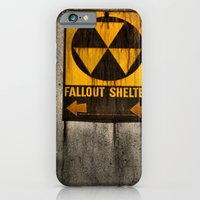 iPhone Cases featuring Fallout Shelter by Julie Maxwell