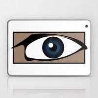 Blue Gaze Laptop & iPad Skin