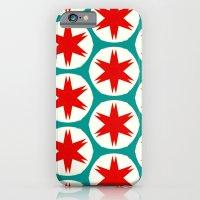 Retro Red Stars II iPhone 6 Slim Case