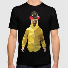 Walter White // Breaking Bad SMALL Black Mens Fitted Tee