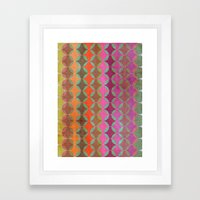 Colour Harmonies Framed Art Print