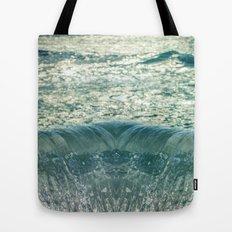 Glimpse of the Mermaid's Descent Tote Bag