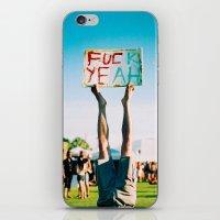 F Yeah iPhone & iPod Skin