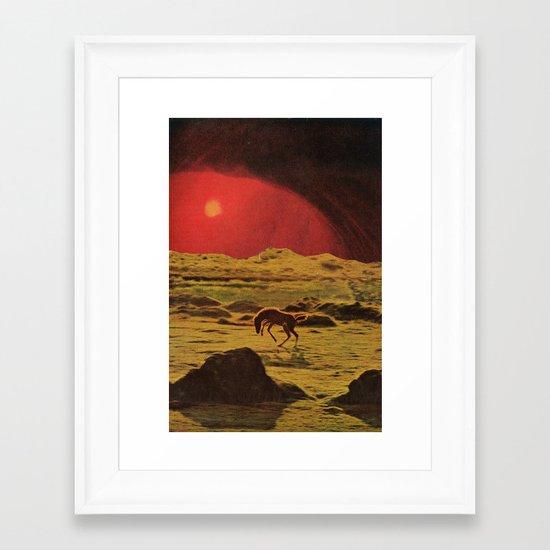 heart is home Framed Art Print