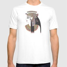 EGYPTIAN GODDESS Mens Fitted Tee White SMALL