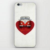 Van Love iPhone & iPod Skin