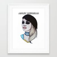 Miss Ashley Dzerigian Framed Art Print