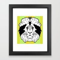 The Mane Attraction Framed Art Print