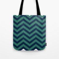 3D In Ocean Tones Tote Bag