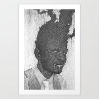 Fear & Desire Art Print