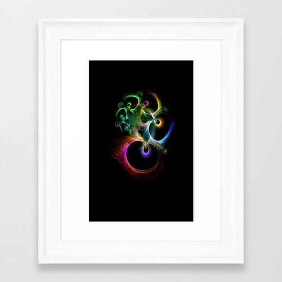 Good Luck Charm Framed Art Print
