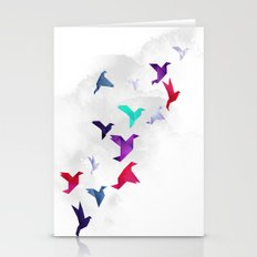 Paper birds Stationery Cards